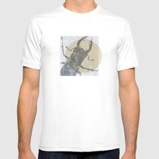 Beetle2 SMALL White Mens Fitted Tee