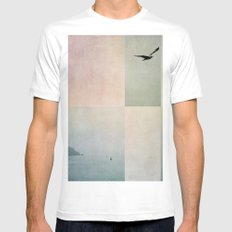 sea Mens Fitted Tee White SMALL