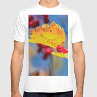 T-shirt featuring Yellow Leaf by Svetlana Korneliuk