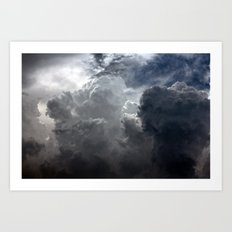 FIG. 6 | CUMULONIMBUS Art Print