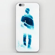 Love Isolation in Teal iPhone & iPod Skin