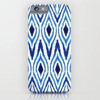 Ikat Blue iPhone 6 Slim Case
