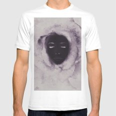 Opposites SMALL Mens Fitted Tee White