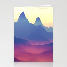 Mountains of Another World Stationery Cards