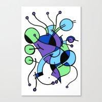 Print #9 Canvas Print