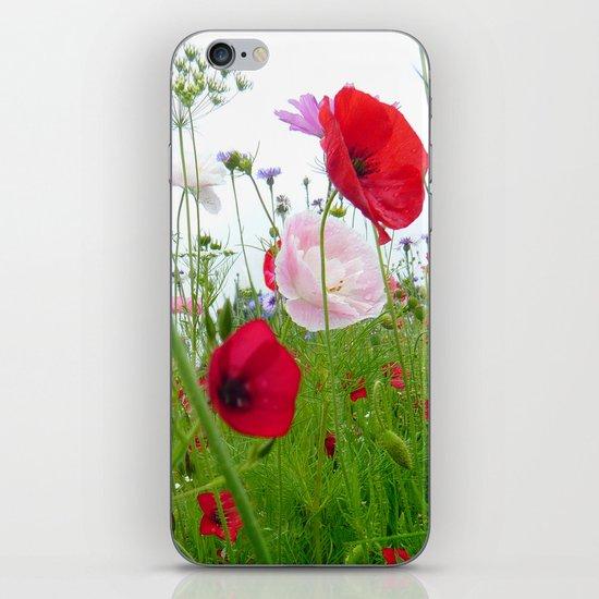 flower meadow iPhone & iPod Skin