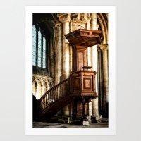The Pulpit Art Print