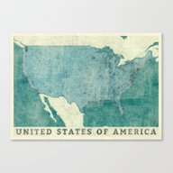 United States Of America… Canvas Print