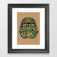 The Chief Framed Art Print