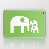 Green Elephants Laptop & iPad Skin