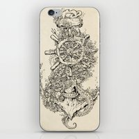 Into The Deep iPhone & iPod Skin
