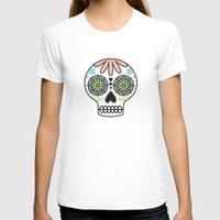 sugar skull T-shirts featuring Sugar Skull by Liz Urso