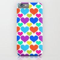 Bright Hearts iPhone 6 Slim Case