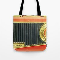 On the Radio... Tote Bag