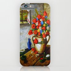 Hungarian Poppies iPhone 6s Slim Case