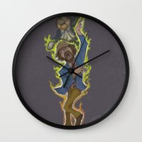Duncan and Lil' Hobo Wall Clock