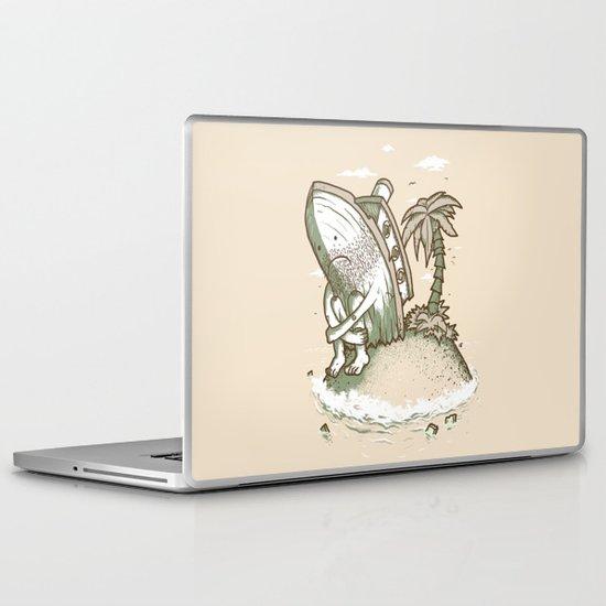 Shipwrecked Laptop & iPad Skin