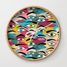 Eye, EyeBrow Wall Clock
