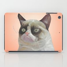 grumpy-cat-Orange iPad Case