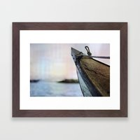 Relieve Framed Art Print
