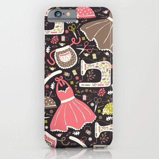 Vintage Sewing iPhone & iPod Case