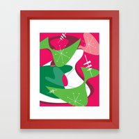 Retro Romp Framed Art Print