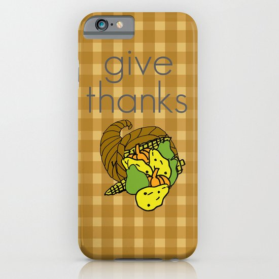 Give Thanks, November Cover iPhone & iPod Case