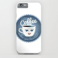 Cold coffee makes you beautiful... iPhone 6 Slim Case