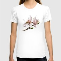 Life is Sweet Womens Fitted Tee White SMALL