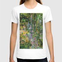 Giverny Womens Fitted Tee White SMALL
