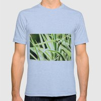 Grasses Mens Fitted Tee Athletic Blue SMALL