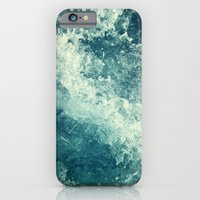 friends iPhone & iPod Cases featuring Water I by Dr. Lukas Brezak
