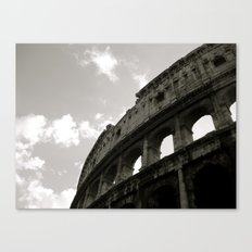 The Curve Of The Colloseum Canvas Print