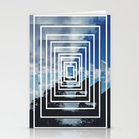 SKY ILLUSION Stationery Cards