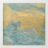 Copper Turquoise #03 Canvas Print