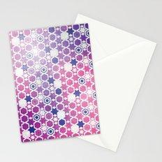 Stars Pattern #001 Stationery Cards