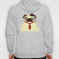 Pug in a Hat Hoody