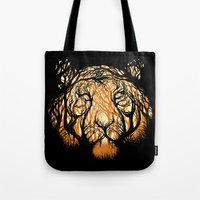 Hidden Hunter Tote Bag