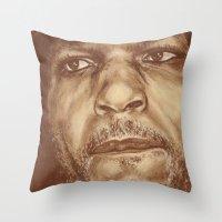 Round 4...bernard Hopkin… Throw Pillow