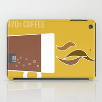 70s Coffee iPad Case
