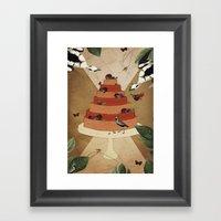 Let Them Eat Cake :: II Framed Art Print