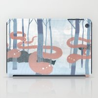 Snakes In The Forest iPad Case