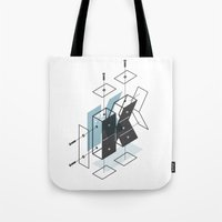 The Exploded Alphabet / K Tote Bag