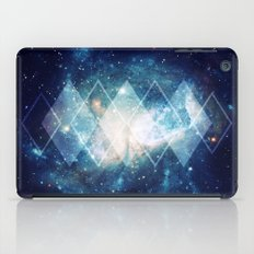 Shining Nebula - Blue iPad Case