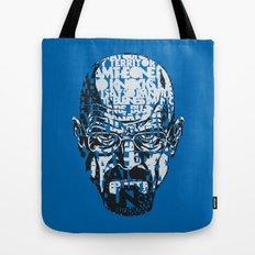 Heisenberg Quotes Tote Bag