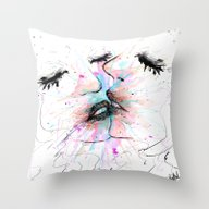 Throw Pillow featuring Infinity Beso by DizzyNicky