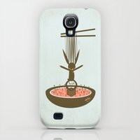 Galaxy S4 Cases featuring 사춘기: 토끼누들 [PUBERTY: TOKKI NOODLE] by PAUL PiERROt