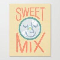 Sweet Mix Canvas Print