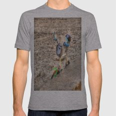 I Like to Ride My Bicycle Mens Fitted Tee Athletic Grey SMALL