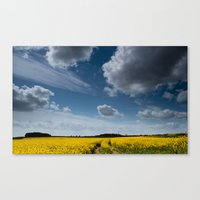 Blue Sky Thinking Canvas Print